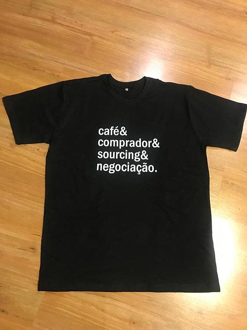Camisa Frases do Café