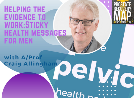 Helping the evidence to work: Sticky health messages for men with Craig Allingham