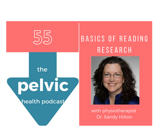 Basics of Reading Research with physiotherapist Dr. Sandy Hilton