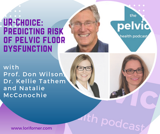 UR-Choice: Predicting risk of pelvic floor dysfunction with Prof. Don Wilson, Dr. Kellie Tathem and