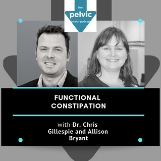 Functional constipation with Dr Chris Gillespie and Allison Bryant
