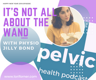 It's Not All About the Wand with physio Jilly Bond