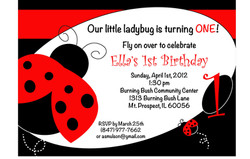 1st birthday party invite