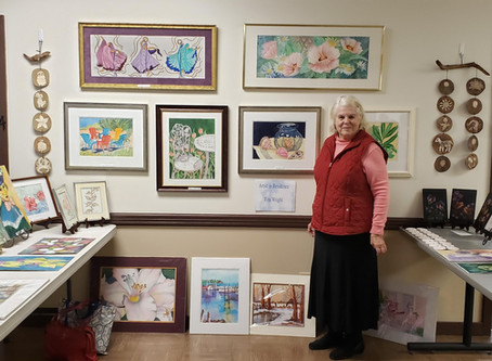 November Artist: Rita Wright