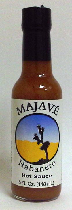 Majave Hot Sauce bottle
