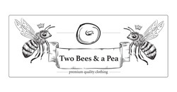 Two Bees and a Pea - logo
