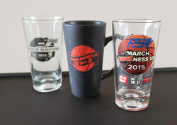 PS Direct - March Madness pint glasses