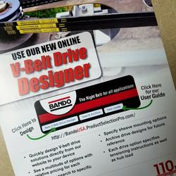 V-Belt drive design