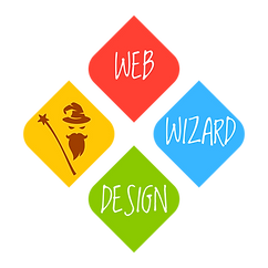Web Wizard Design Logo