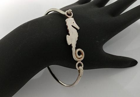 Large Seahorse Hook Bracelet