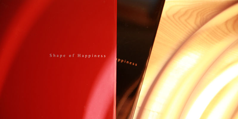 和婚や成人振袖向けの漆表紙のフォトアルバム