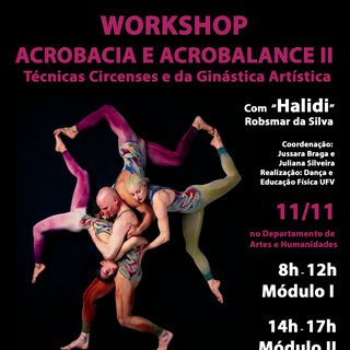 2017 - Workshop Acrobacia e Acrobalance