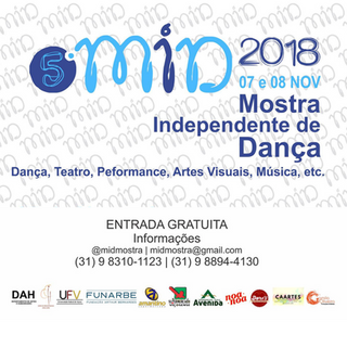 2018 - 5ª MID: Mostra Independente de Dança