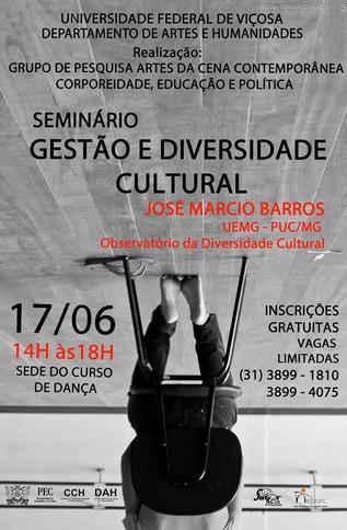 Seminário Gestão e Diversidade Cultural