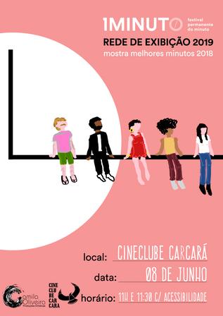 Festival do Minuto - Rede de exibição 2019