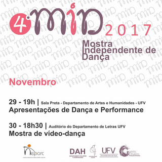 2017 - 4ª MID: Mostra Independente de Dança