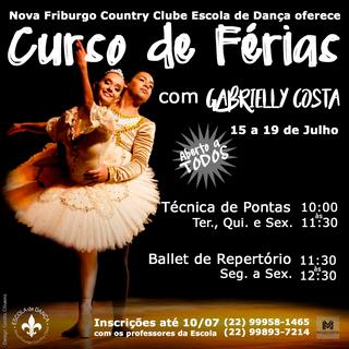 2019 - Curso de Férias Ballet