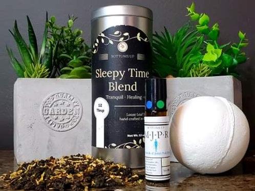Relaxation Bundle (MJPR GE + Sleepy Time Tea + Pain Relief Fizzy)