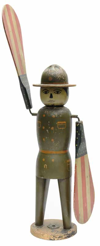 Patriotic World War I Doughboy