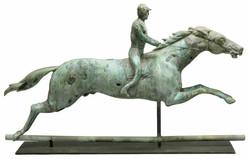 Horse & Rider Weathervane