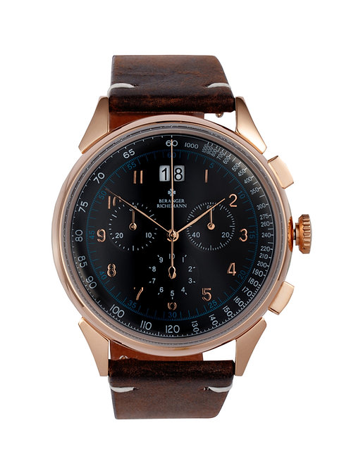 RACER WATCH IN ROSE GOLD BLACK (approx USD 348)