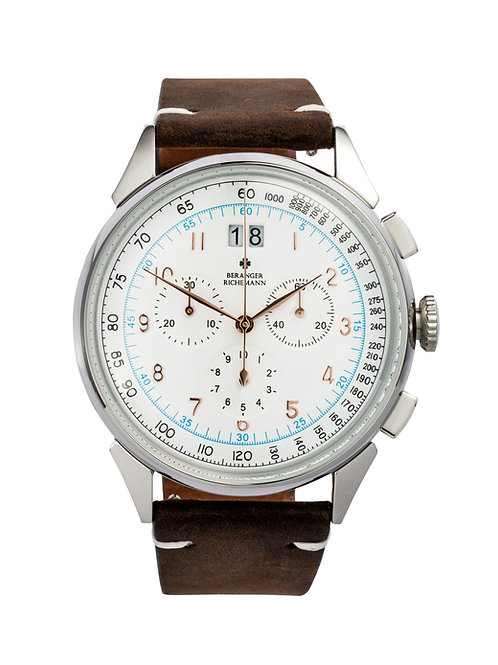 RACER WATCH IN SILVER WHITE (approx USD 320)
