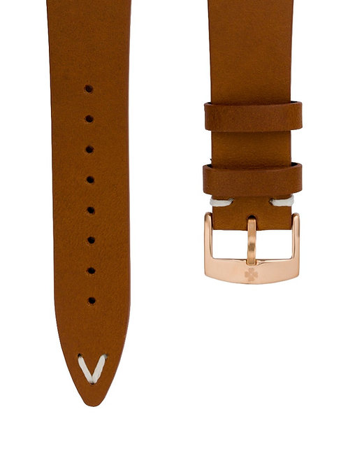 RACER WATCH LIGHT BROWN LEATHER STRAP (approx USD 26)
