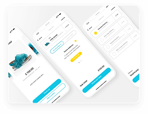 KULD Dribbble UI Shot