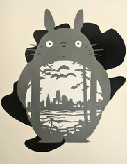 The final Totoro papercut