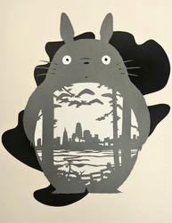 The final Totoro papercut