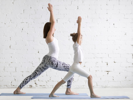 Involving your Kids in Yoga