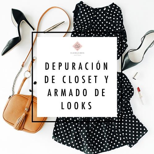DEPURACIÓN DE CLOSET Y ARMADO DE LOOKS
