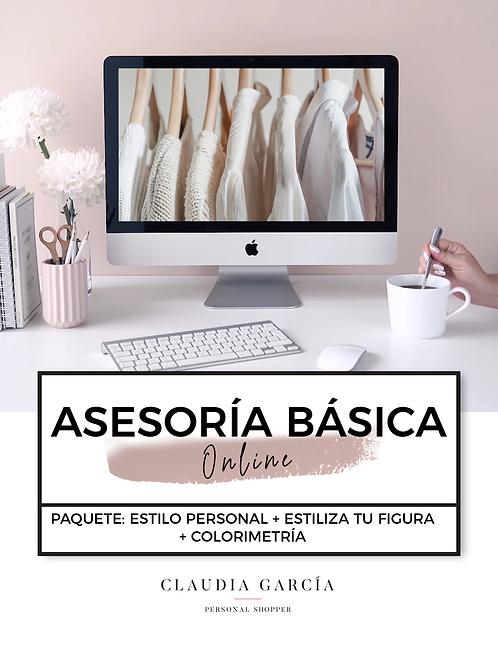 ASESORÍA DE IMAGEN - BÁSICA