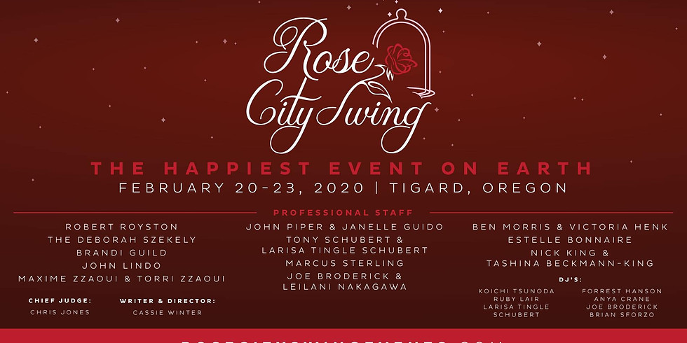 Rose City Swing 2020: The Happiest Event on Earth!