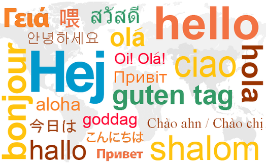 Talent in learning languages the art of learning languages hello in many foreign languages m4hsunfo