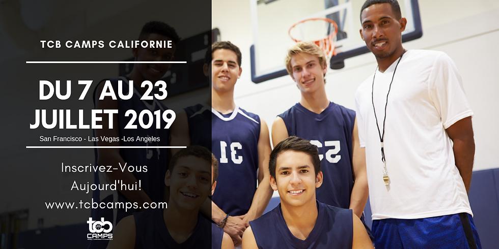Inscription - TCB Camps California 2019