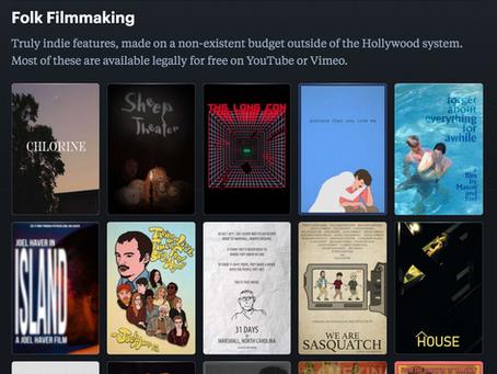 Folk Filmmaking / Democratization of film as an artform