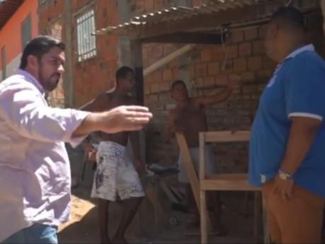 """Leonardo Dias inicia mandato visitando Riacho Doce e garante: """"lutar pela melhoria de nossa cidade"""""""