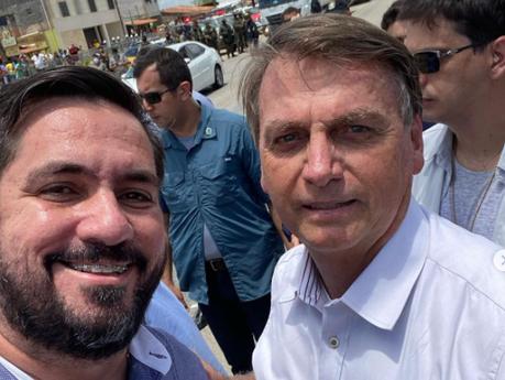 """Leonardo Dias: """"Bolsonaro pode vir à Maceió em março para inauguração de viaduto"""""""