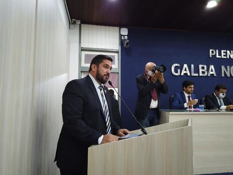 Em primeiro discurso, Leonardo Dias pede celeridade na apreciação do recesso parlamentar