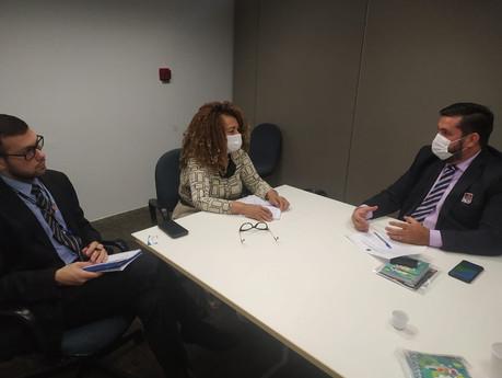 Em Brasília, Leonardo Dias discute melhorias para os conselheiros tutelares de Maceió