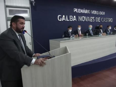 Leonardo Dias defende liberdade de expressão ampla para a imprensa e faz críticas à CPI
