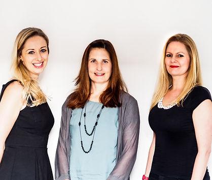 Lighthouse Psychology Practice Team - Dr. Claire Tobin, Dr. Katja Windheim, Dr. Kate Robinson. At London, UK.