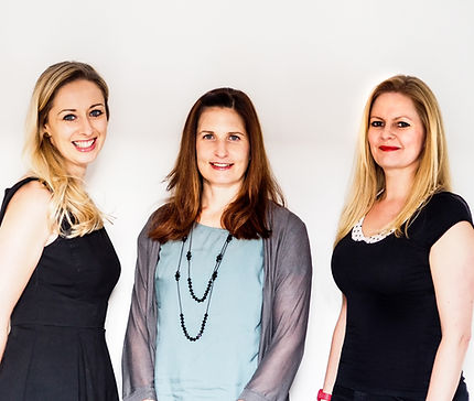 Lighthouse Psychology Practice Team - Dr. Claire Tobin, Dr. Katja Windheim, Dr. Kate Robinson. At London, UK.