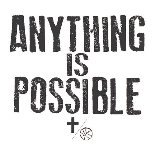 """Anything is Possible"" Tee - Adult"