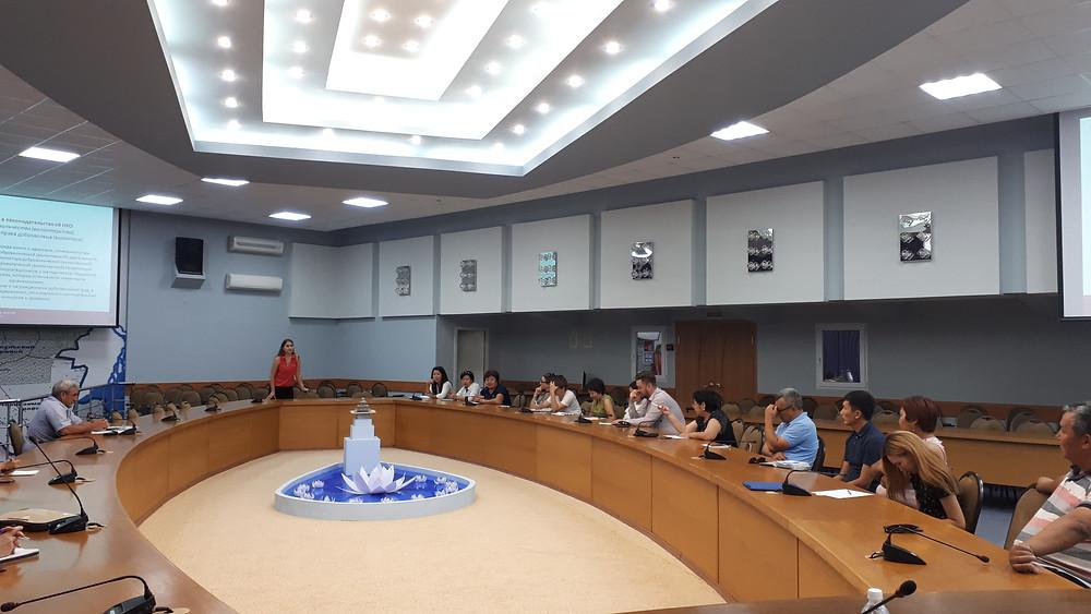Семинар для НКО в Калмыкии проводит Юлия Дробот