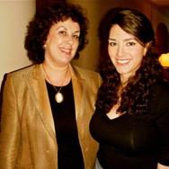 With mentor Lyutsina Kazachenko celebrating New Year's Eve at Davies Symphony Hall, 2011