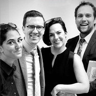 Backstage after Werther at Florida Grand Opera, with Allen Perriello, Daniela Mack, and Alek Shrader, May 2019