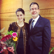 After performing the title role of Serse, with Maestro Corey Jamason, March 2014