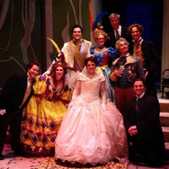 With the cast and maestro of La Cenerentola at Arizona Opera, April 2017